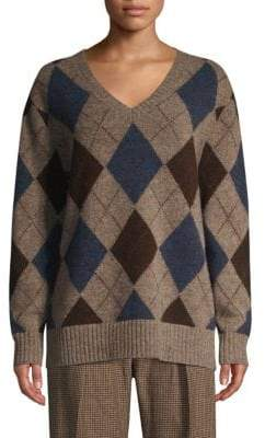 Polo Ralph Lauren Long Sleeve Argyle Sweater