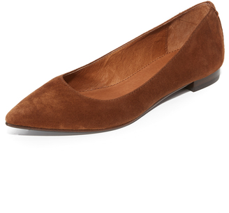Frye Sienna Ballet Flats $198 thestylecure.com