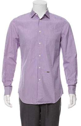 DSQUARED2 Striped Dress Shirt