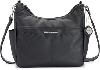 Rosetti Black Faux Leather Shoulder Bags - ShopStyle b428c0b6afd43