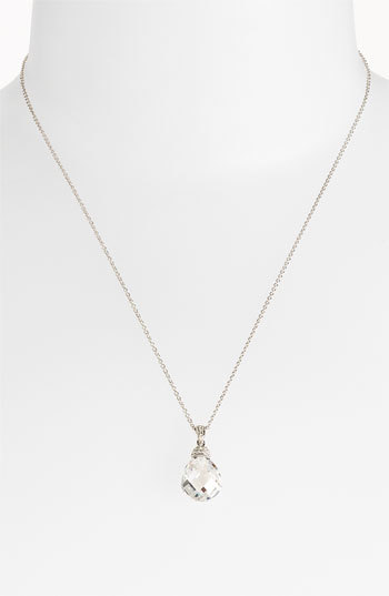 Nadri Boxed Faceted Pendant Necklace (Nordstrom Exclusive)