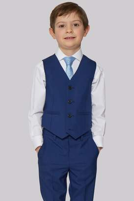 French Connection Kidswear Bright Blue Waistcoat