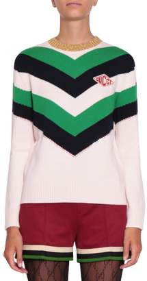 Gucci Wool And Lurex Sweater