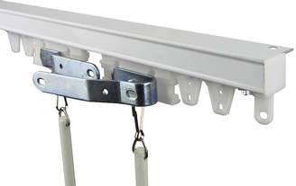 ROD DESYNE Rod Desyne Heavy-Duty Ceiling Track/Room Divider Kit