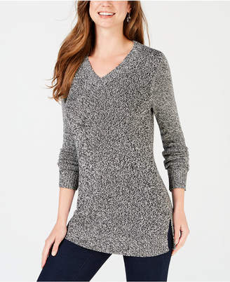 Charter Club Marled V-Neck Sweater