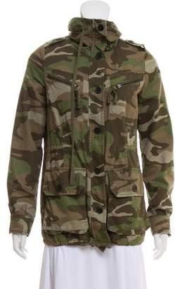 Barneys New York Barney's New York Army Fatigue Short Jacket