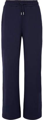 Ninety Percent - Organic Cotton-jersey Track Pants - Navy