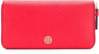 Tory Burch zip around logo wallet