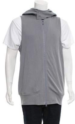 Y-3 Hooded Sleeveless Sweatshirt