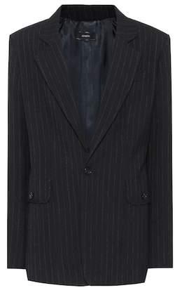 Joseph Lisle pinstripe wool blazer