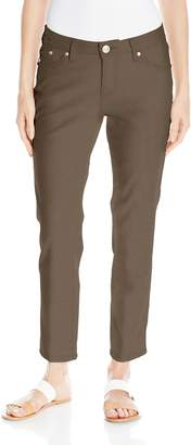 Jag Jeans Women's Lena Straight Leg Ankle In Gatsby Linen