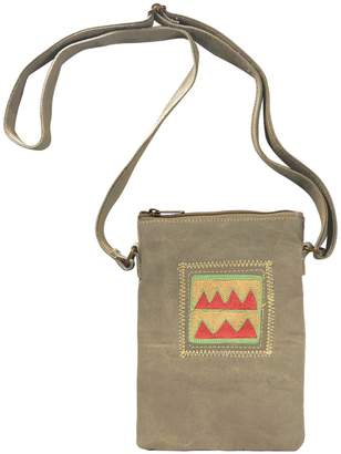 Vintage Addiction Embroidered Tent Small Crossbody Bag
