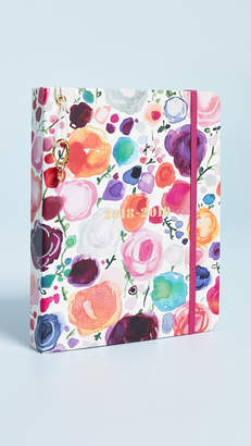 Kate Spade Floral Large August to August Agenda Planner