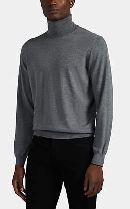 Fioroni Men's Wool-Cashmere Turtleneck Sweater - Gray