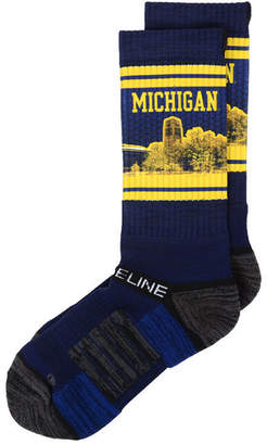 Strideline Michigan Wolverines Campus Stadium Socks