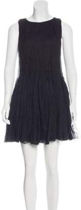 Vionnet Silk Pleated Dress