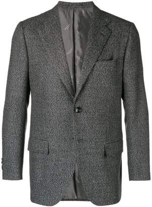 Kiton single breasted blazer