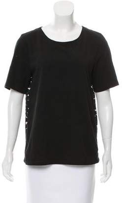 DKNY Lace-Accented T-Shirt