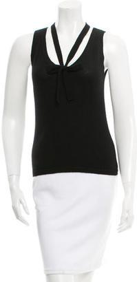 Vera Wang Cashmere Knit Top $65 thestylecure.com