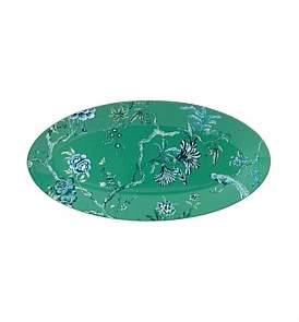 Wedgwood Jasper Conran At Chinoiserie Green Oval Dish 45Cm