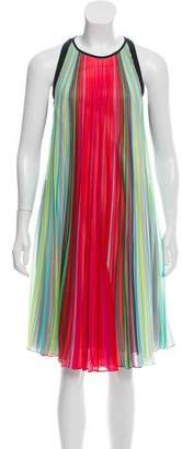 Mary Katrantzou Sleeveless Pleated Dress