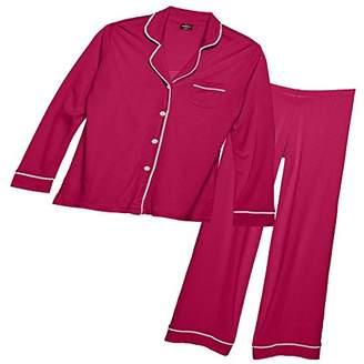 Cosabella Women's Bella Long-Sleeve Top Pant Pajama Set