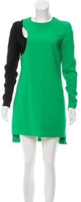 Versace Cutout Mini Dress