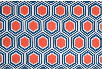 Artisan Weaver Haskell Lattice Reversible Wool Rug