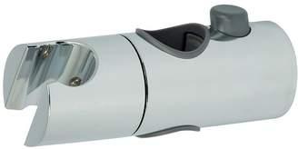 Triton Riser Rail Handset Holder - 25mm - Chrome