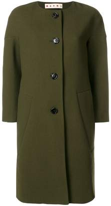 Marni single-breasted fitted coat