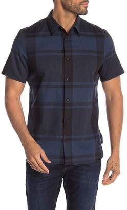 Calvin Klein Checkered Short Sleeve Regular Fit Shirt