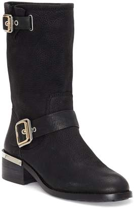 Vince Camuto Windy Leather Mid-Calf Boots