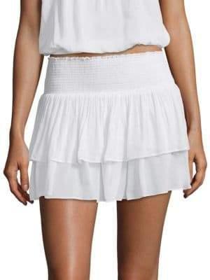 Ramy Brook Sibyl Ruffle Skirt