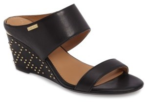 Women's Calvin Klein Phyllis Studded Wedge Sandal $109.95 thestylecure.com