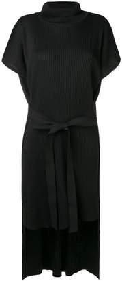 MM6 MAISON MARGIELA ribbed knit layered dress