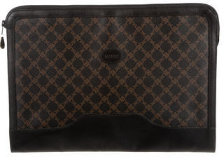 BallyBally Logo Leather Laptop Case