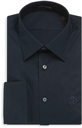 Roberto Cavalli Men's Comfort Button-Down Dress Shirt