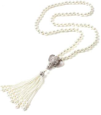 Amrita Singh Cz Tassel Necklace