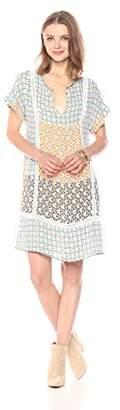 Ella Moon Women's Joselyn Ladder Trim Boxy Tee Dress