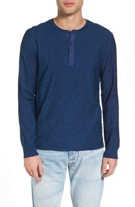 Levi's(R) Made & Crafted(TM) Slim Fit Long Sleeve Henley
