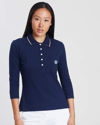 North Sails Women's 3/4 Sleeve Polo Shirt