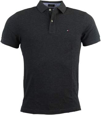 Tommy Hilfiger Mens Custom Fit Solid Color Polo Shirt - XL