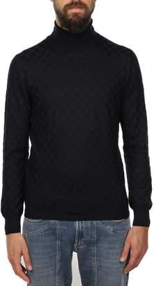 Gran Sasso Virgin Wool Turtle-neck Sweater