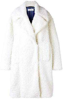 Circus Hotel oversized faux shearling coat