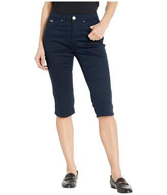 FDJ French Dressing Jeans Soft Hues Denim Olivia Pedal Pusher in Navy