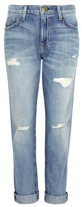 Current/Elliott Fling Distressed Boyfriend Jeans
