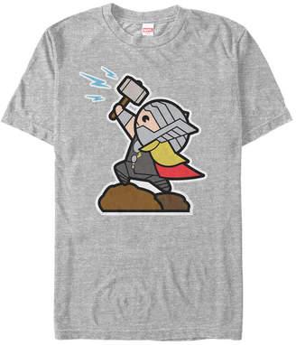 Marvel Men Avengers The Mighty Kawaii Thor Short Sleeve T-Shirt