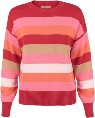 Oliver Bonas Multicolour Stripe Jumper