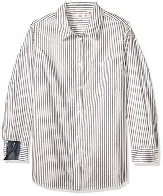 Levi's Women's Plus-Size Ryan Button Back Shirt