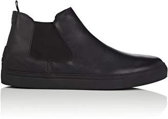 Emporio Armani Men's Leather Chelsea Sneakers